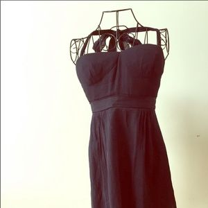 J Crew silk party dress